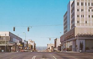 Looking East on Hewitt Avenue , EVERETT , Washington , 1950-60s