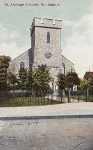 WHITSTABLE, Kent, England, UK, 1900-10s; St. Alphege Church