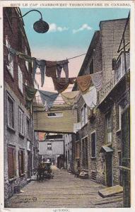 Sous Le Cap (Narrowest Thoroughfare), Quebec, Canada, 1900-1910s