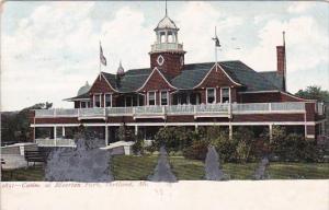 Maine Portland Casino At Riverton Park 1906