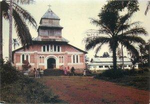 Postcard Gabon Catholic Church