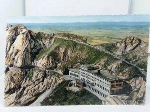 Vintage Postcard Roysdean Hotel Pilatus Kulm 2132m Switzerland