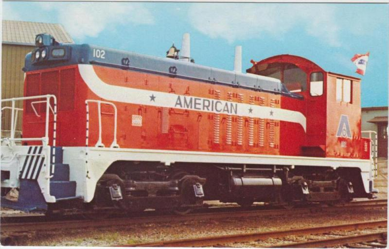The American Cast Iron Pipe Co.  Locomotive unit 102 Bicentennial