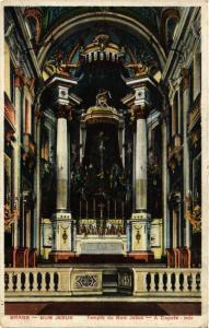 CPA Braga- Templo do Bom Jesus, A Capela. PORTUGAL (760767)