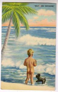 Bare Butt Little Boy, Southern Exposure