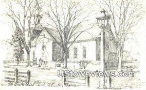 Bruton Parish Church - Williamsburg, Virginia