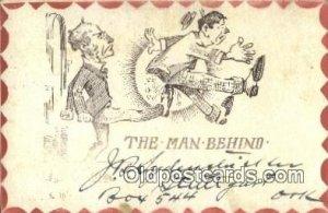 Comic Comical Postcard Post Card Old Vintage Antique 1906