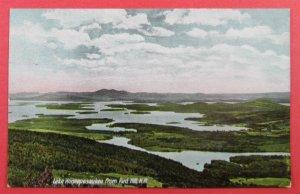 Lake Winnepesaukee From Red Hill NH 1910 Postcard (#2712)