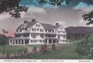 The Shattuck Inn - Jaffrey NH, New Hampshire - Swallow Post Card - DB