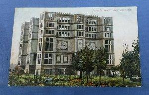 Vintage Postcard Jezreel's Tower New Brompton Kent Postmarked 1905    H1A