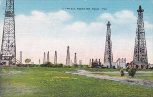 Texas Typical Oil Field