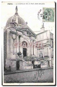 Postcard Old Paris La Chapelle Rue Jean Goujon
