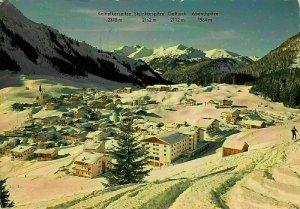 Wintersportplatz Berwang Tirol Panorama Winter Mountains Postcard