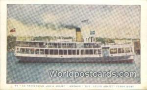 Quebec Canada, du Canada La Traversier Louis Joliet, Louis Joliet Ferry Boat ...