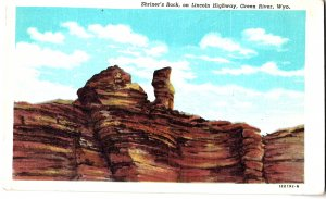 Shriner's Rock, on Lincoln Highway, Green River, Wyo.