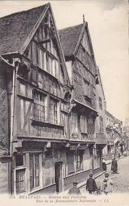 Maison Aux Faiences, Rue De La Manufacture Nationale, Beauvais (Oise), France...