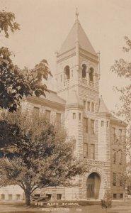 RP: WELLINGTON , Kansas , 1907 ; 3rd Ward School