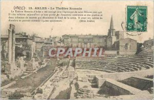 Old Postcard Arles The Theater Romain