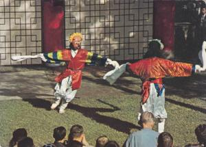 Yang-ju Folk Dancers, Staged Attraction For Visitors To Korea House In Seou...