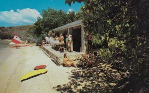 ST THOMAS , Virgin Islands , U.S.A. , 1962 ; Water Isle Hotel , Honeymoon Beach