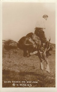 RP: Rodeo ; Giles Essex on OUTLAW , 1910-20s
