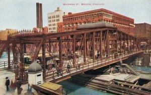 USA Madison Street Bridge Chicago 03.78