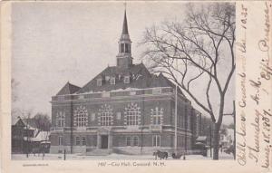 CONCORD, New Hampshire, PU-1907; City Hall