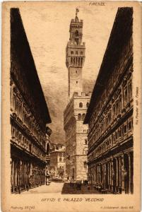 CPA FIRENZE Uffizi e Palazzo Vecchio. ITALY (501889)