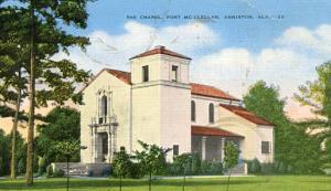AL - Fort McClellan, The Chapel