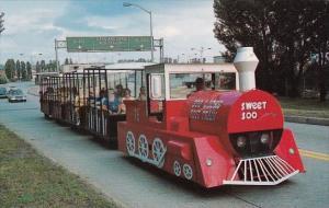 Miniature Train Soo Tour Train Crossing International Bridge Sault Ste Marie ...