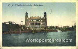Rotterdam Netherlands, Nederland HAL Wilhelminakade  HAL Wilhelminakade