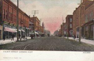 AYLMER, Ontario, Canada, PU-1907; Talbot Street, Looking East