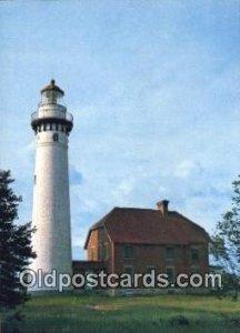 Pictured Rocks National Lakeshore Lake Superior Postcard Post Cards Old Vinta...