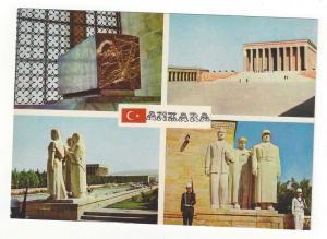 Turkey Ankara Anitkabir Multiview Mausoleum Ataturk Vntg Pos