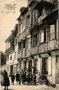 CPA HONFLEUR - Vieilles Maisons (272353)