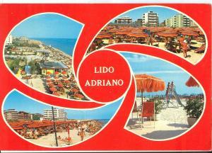 Italy, Lido Adriano, 1982 used Postcard