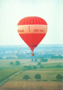 Postcard Nantes 1983 Hot-air balloon Lasse Moller photo