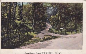 Greetings From Parish New York 1923