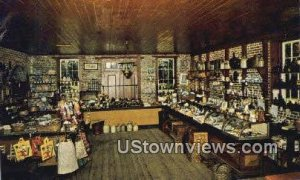 General Store, Deserted Village in Allaire, New Jersey