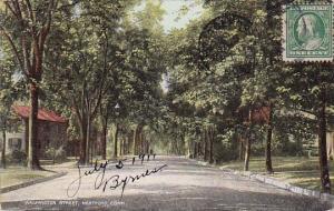 Washington Street Hartford Connecticut 1911