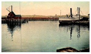 Connecticut  New London ,  Chelsea Line Dock