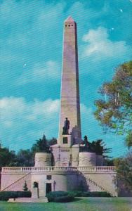 Illinois Springfield Lincoln's Tomb In Oak Ridge Cemetery 1965