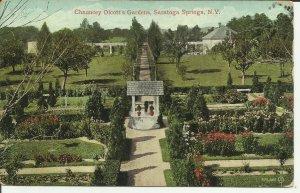 Saratoga Springs, N.Y., Chauncey Olcott's Gardens