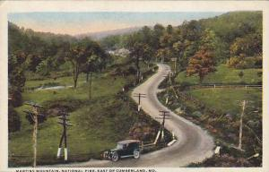 Martins Mountain, National Pike, East of Cumberland, Maryland, 00-10s
