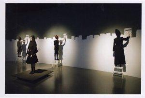 Hussein Chalayan MBE Turkish Cyprus Fashion Designer 2009 Exhibition Postcard