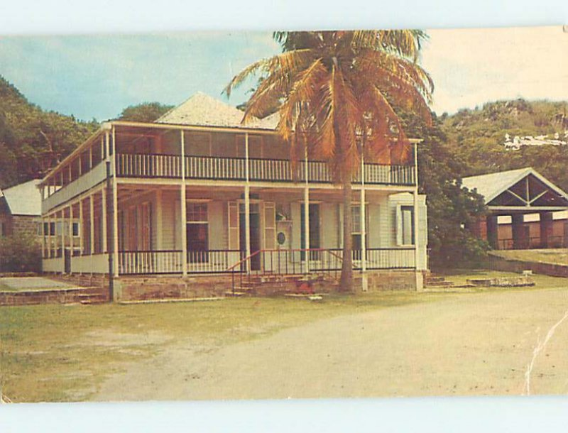 Chrome LORD NELSON ADMIRAL HOUSE Country Of Antigua Carribean AG0879