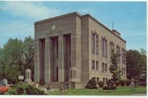 Court House, Dixon, Kentucky, 40-60s