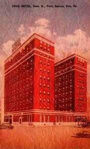 Pennsylvania Erie Ford Hotel