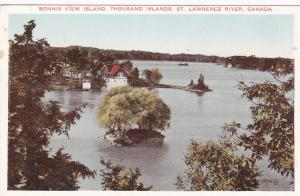 THOUSAND ISLANDS, New York, 00-10s; Bonnie View Island, St. Lawrence River
