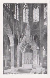New York City St Patrick's Cathedral High Altar 1953